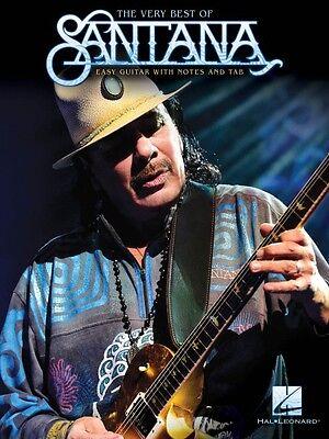 The Very Best of Santana Sheet Music Easy Guitar Book NEW 000174793
