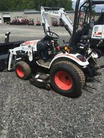 2012 Bobcat CT122 Tractor w/Blower & Mower Deck (LOW HOURS)