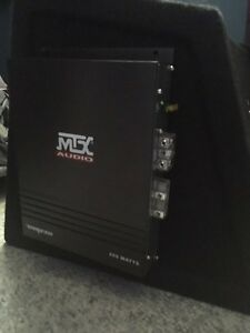 "MTX 10"" Subwoofer and Amp West Island Greater Montréal image 3"