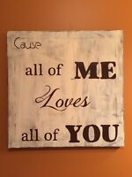 All of me loves all of you-painting