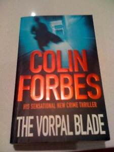 The Vorpal Blade Colin ForbesCrime Thriller/paperback V>G>C South Perth South Perth Area Preview