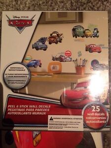 Disney Cars Wall Decals Kitchener / Waterloo Kitchener Area image 5