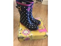 Joules Size 7 Welly's