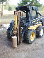 Wood Splitter for Skid Steer