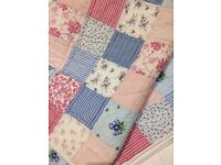 JO JO MAMA BABE LARGE DOUBLE + THROW PATCHWORK BLANKET QUILT RRP £125 KING !!!!!