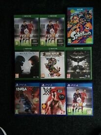 PS4 - XBOX ONE - WiiU Games for Sale