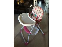 BabiesRus Baby High Chair