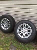 Tires and rims 18l