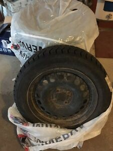 4 winter tires on Toyota rims