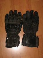 Gants / Gloves - Leather / cuir - motocyclette / Motorcycle