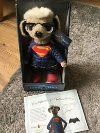 Meerkats for sale, Superman and Elsa ....£20 Each OR Both for £30