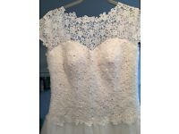 WEDDING DRESS sz 12/14
