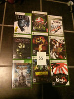 HUGE pile of 360, PS3, and PC games $5-10