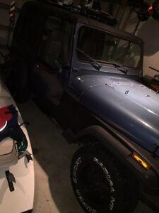 1995 jeep wrangler YJ 5000 obo