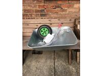 Bentley Galvanised Steel Garden Wheelbarrow