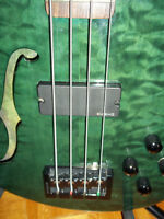 MINT Condition Spector Bass with OHSC