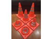 Pop up traffic cones - safety/sport equipment