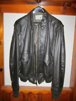 Leather Jacket - Official U.S. Border Patrol Men Size 46 Brown