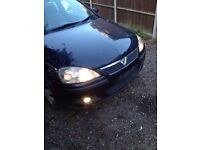 Corsa c 2005 black bonnet in black z20r 07594145438