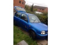 Nissan micra 1.0 little rough on the edges