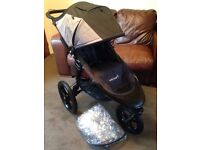 CAN POST EXC COND NEW LOGO BABY JOGGER SUMMIT X3 PUSHCHAIR RUNNING ALL TERRAIN OFF ROAD BUGGY PRAM
