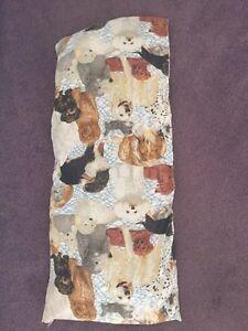 Dog body pillow