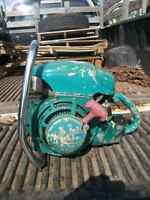 A Painted Green Pioneer Chainsaw!