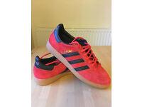 Adidas Spezial Red/Black/Gum UK 8.5