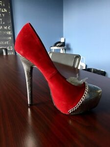 "Just Fab 6 1/2 Stilettos - 5"" Heel. Never Worn"
