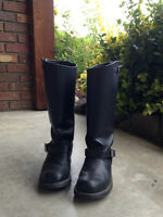 Frye Biker Boots in new condition-only worn a handful of times