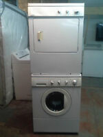 laveuse secheuse kenmore frontale superposer