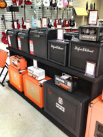 Orange Amps Only at Music Pro Restigouche !