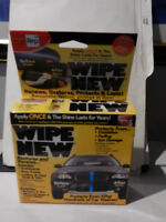 WIPE NEW---AS Seen on T.V.--Restores and Renews AUTO