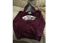 Vans Hoody. Size small.