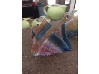 Jo Downs Hand Made Glass Tealight Holder