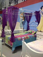 *** PRINCESS CANOPY BED WROUGHT IRON MADE IN CANADA ***