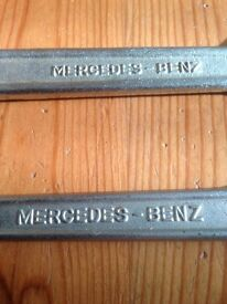 2 x Mercedes Benz spanners
