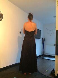 Attire black formal prom dress 18