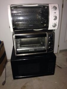 Microwave and toaster ovens