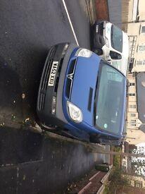 52 plate Vauxhall vivaro