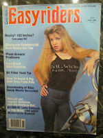 EASYRIDERS BIKER MAGAZINE JUNE 1982 - DAVID MANN CENTERFOLD