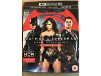 4K ULTRAHD - BATMAN VS SUPERMAN ULTIMATE EDITION