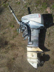 Outboard Motor 9.9 hp 1975. Runs great Short Shaft