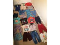 Big bundle of boys clothes 18 - 24 months