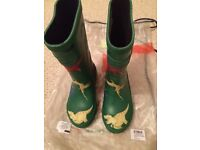 Brand new joules boy wellies