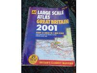 AA Large scale U.K. Atlas