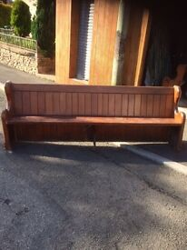2 Church pews very good condition