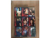 smallville 1-9 £20 no offers collection only gorleston