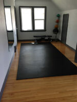 BRIGHT PRIVATE YOGA/PILATES/TRAINING SPACE FOR RENT