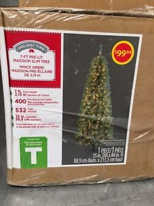 Brand new Christmas trees Kitchener / Waterloo Kitchener Area image 1